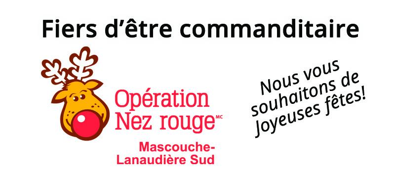 Fiers commanditaire Nez Rouge 2014